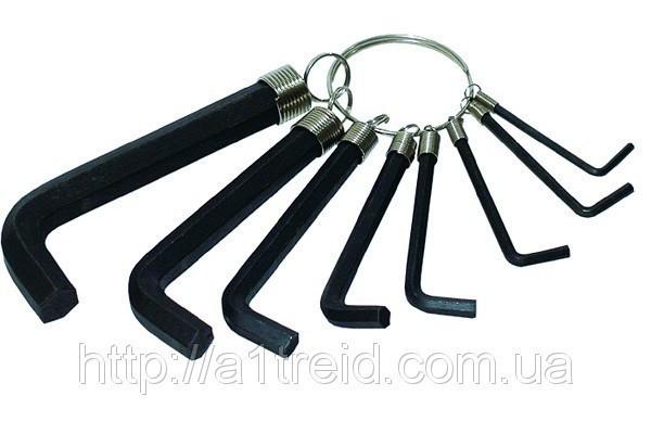 Набор ключей имбусовых 10 шт., (1, 5-10мм)