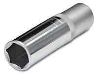 Головка шестигранная торцевая Cr-V, 1/2'', 75х10 мм, Konner