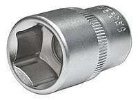 Головка шестигранная торцевая Cr-V, 1/2'', 75х15 мм, Konner