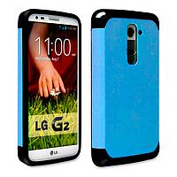 Бампер для LG Optimus G2 D802 - SGP Slim Armor, синий