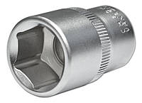 Головка шестигранная торцевая Cr-V, 1/2'', 75х24 мм, Konner