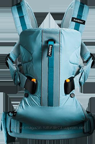 Рюкзак-кенгуру BabyBjorn Carrier One Outdoors turquoise