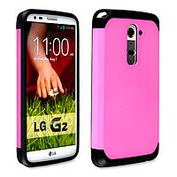 Бампер для LG Optimus G2 D802 - SGP Slim Armor, розовый