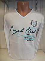 Футболка длинный рукав  ENISTE, Royal club 001