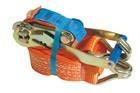Стяжной ремень 5т/50 ммх12 м, с трещоткой