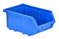 Емкость для мастерской средняя, синяя 250x160x130 мм