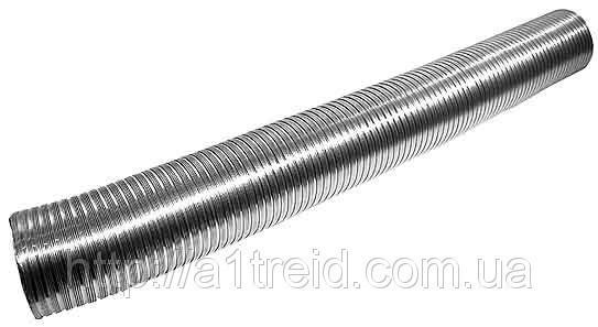 Воздухоотвод, алюминиевый гофрированный, 80мкм, D 110 мм, L 3 м (11ВА)
