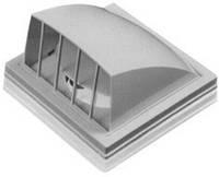 Выход стенной, вытяжной, с обратн. клапаном, с флан., ABS, D 100 мм, 150х150 мм (1515К10ФВ) (Россия)