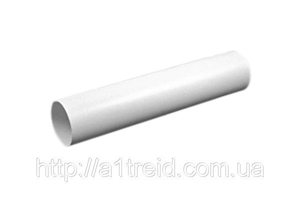Воздуховод круглый, ПВХ, D 100 мм, L 0,5 м (10ВП)