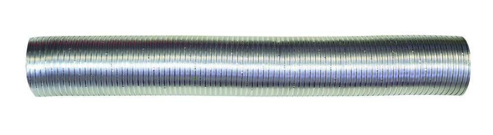 Воздуховод, алюминиевый гофрированный, 80мкм, D 130 мм, L 3 м (13ВА)