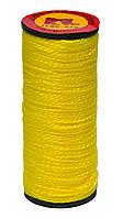 Нить капроновая желтая, 10 шт, 375 текс, (Украина)