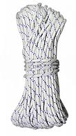 Шнур полипропиленовый вязаный, D 5 мм, 30 м, (Украина)