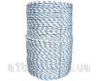 """Шнур капроновый плетеный """"Евро"""", D 10 мм, 50м, (Украина)"""
