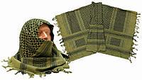 Шемаг (шарф арафатка), олива с черным