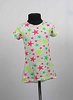 Платье туника от 3 до 7 лет звездочка, фото 1