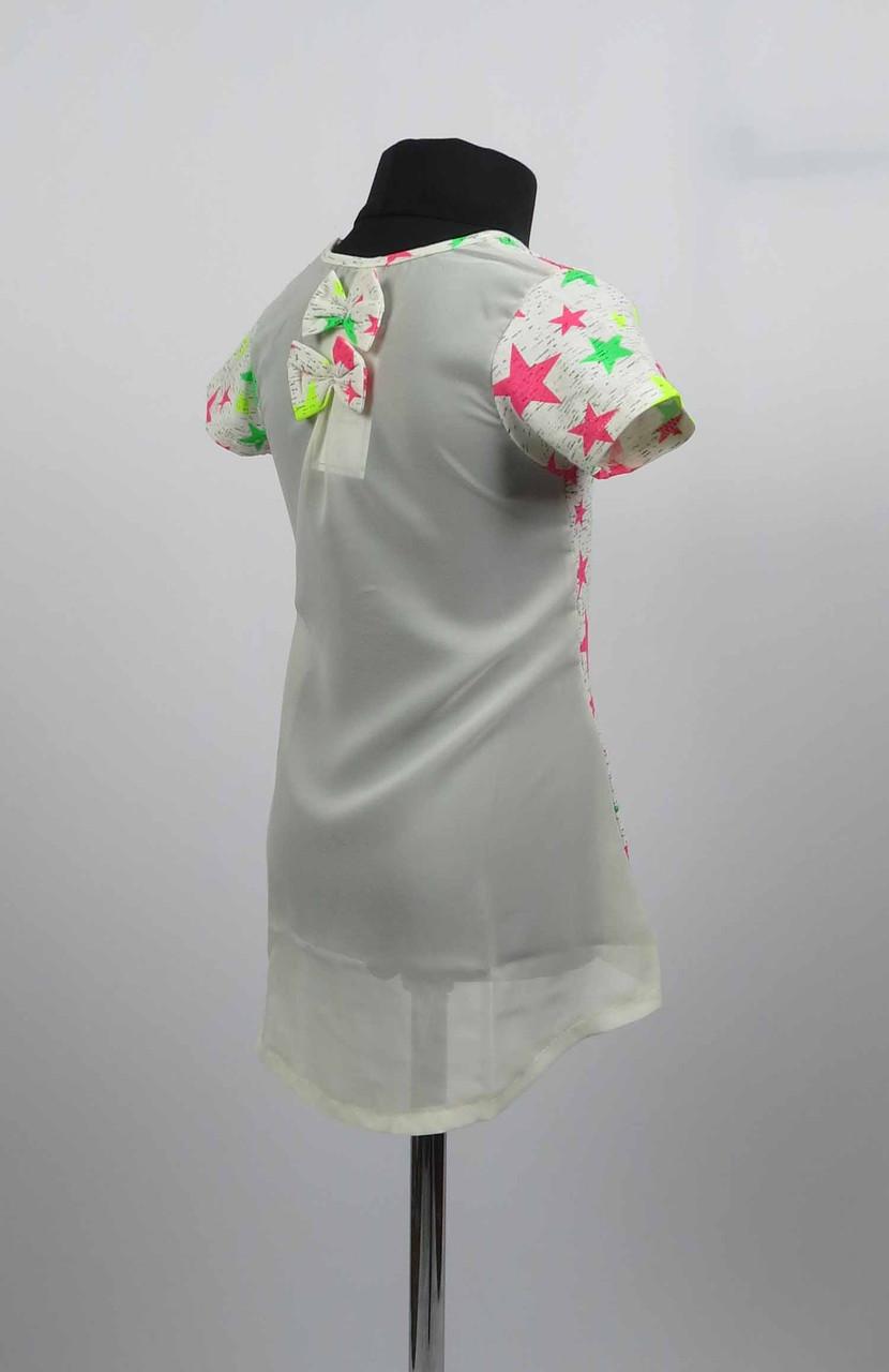Платье туника от 3 до 7 лет звездочка, фото 2
