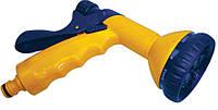 Пистолет-распылитель 10-позиционный пластиковый с фиксатором потока, Verano