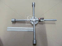 Ключ крест усиленный, с центр. пластиной, 17X19X21X1/2 мм.