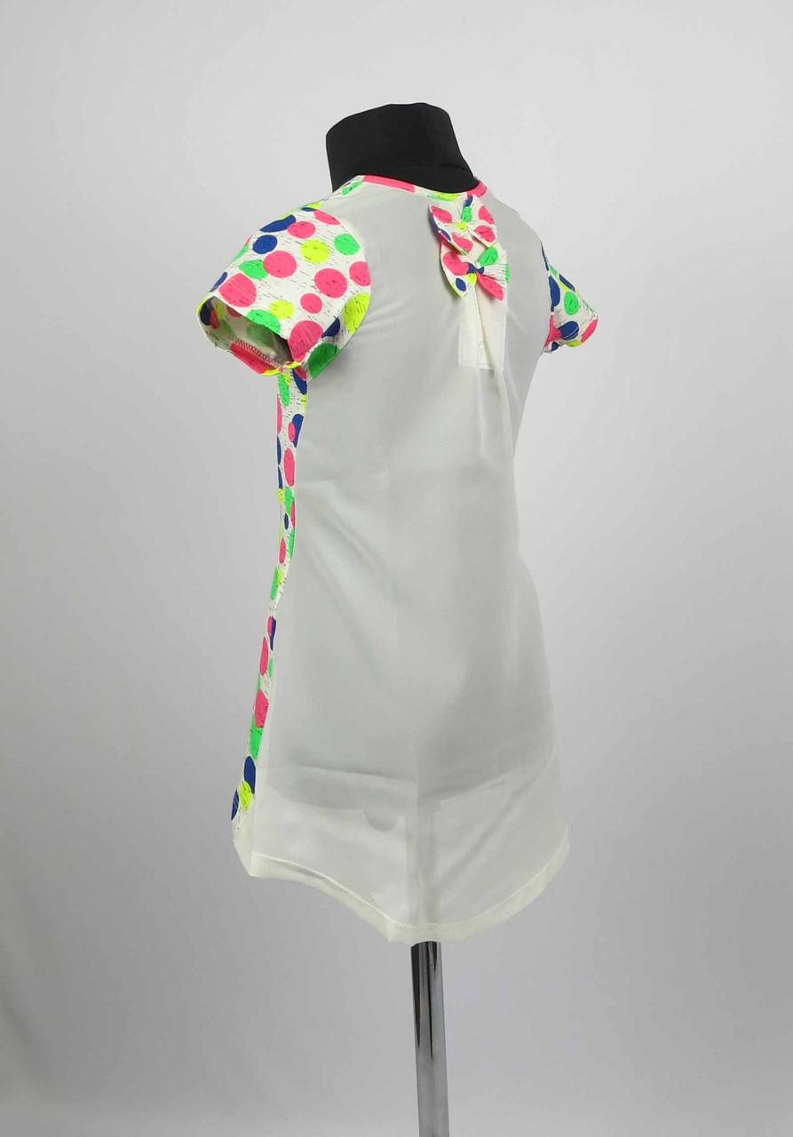 Платье туника от 3 до 7 лет шары, фото 1