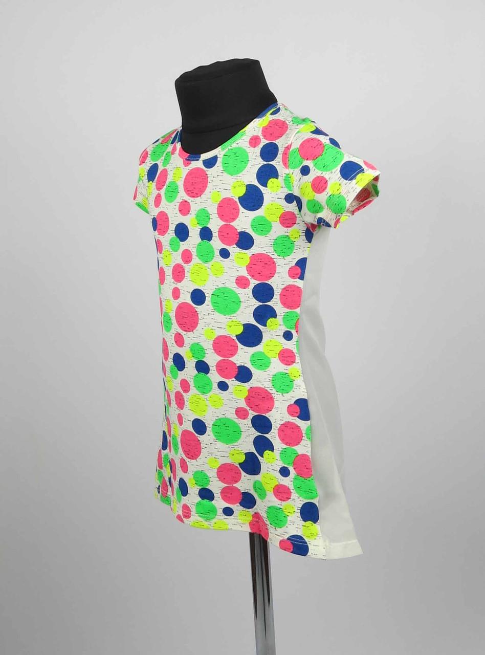 Платье туника от 3 до 7 лет шары, фото 2