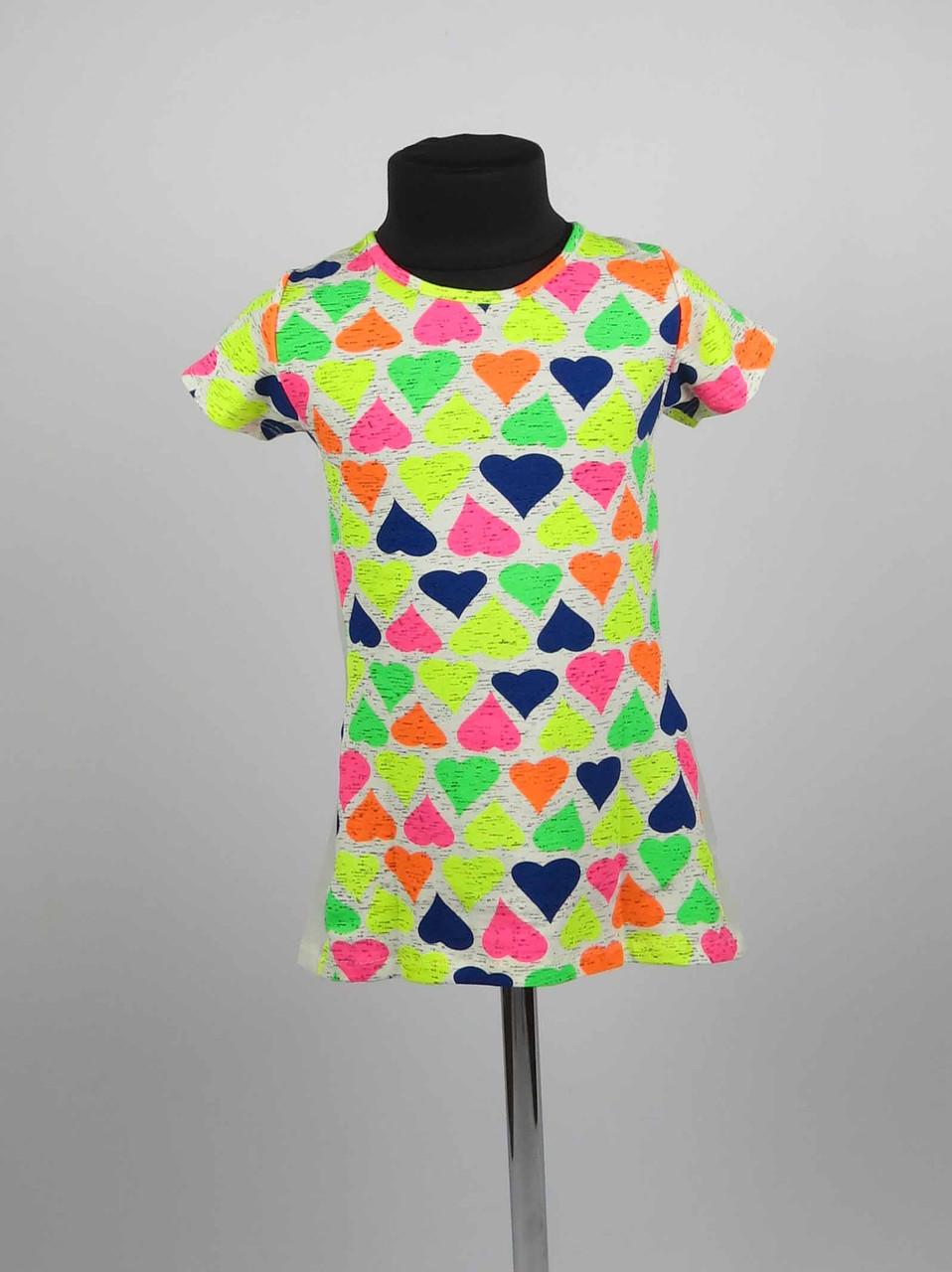 Платье туника от 3 до 7 лет шары, фото 3