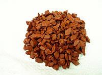 Декоративный цветной щебень (крошка, гравий) , фиолетовый (037628) Оранжевый
