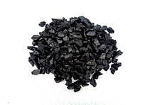 Декоративный цветной щебень (крошка, гравий) , фиолетовый (037628) Черный