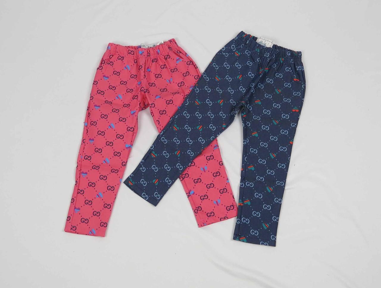 Штаны для девочки 2-5 лет с карманом, синие, фото 1