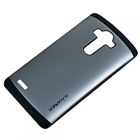 Бампер для LG Optimus G4 - SGP Slim Armor, серый