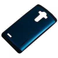 Бампер для LG Optimus G4 - SGP Slim Armor, темно-синий