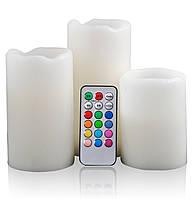 Светодиодные свечи с пультом управления