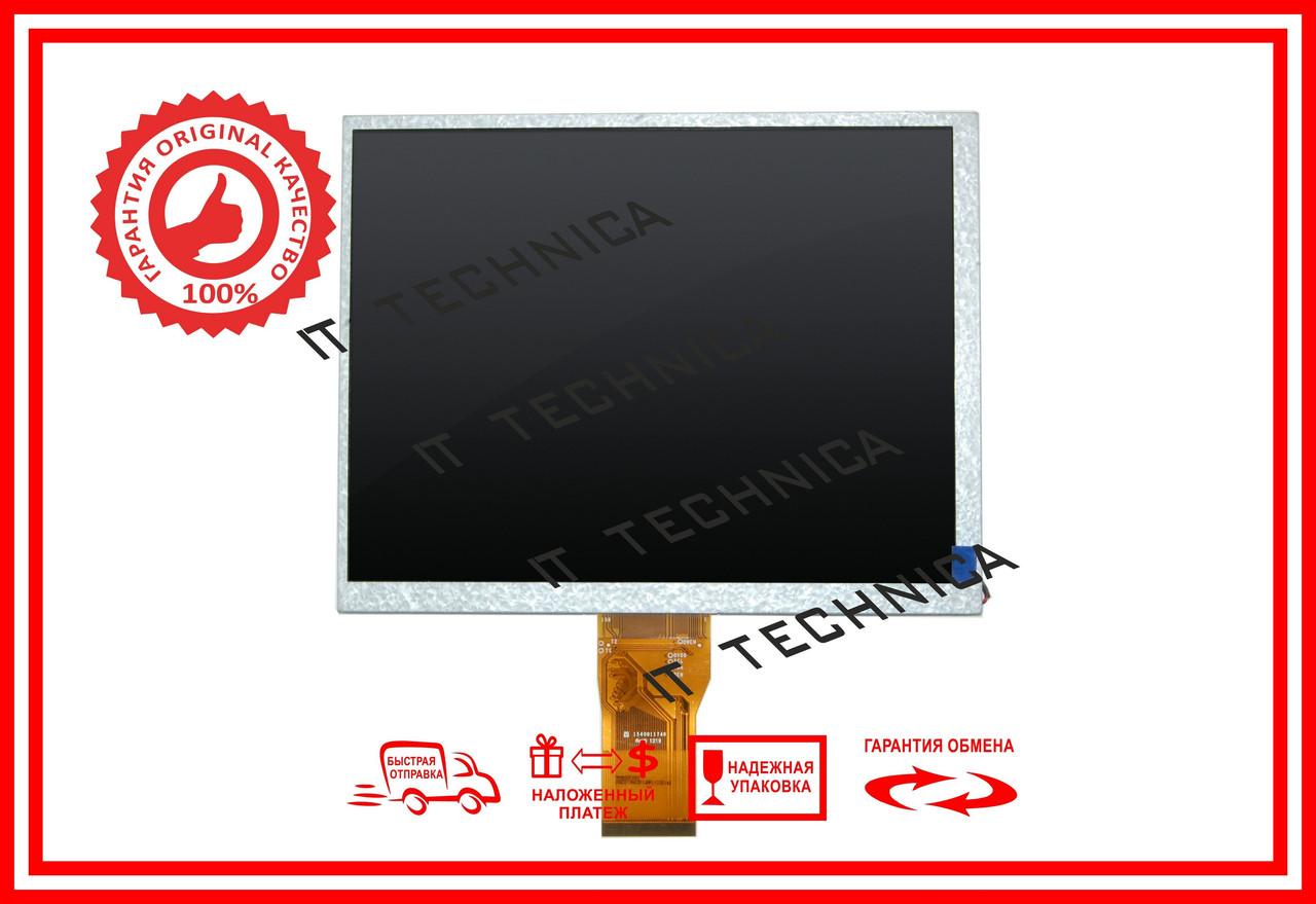 Матриця 174x136mm 50pin 800x600 KD080D3-50NB-A9