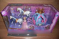Карета с Золушкой, 2 лошади, фея, мыши, 778397/201 HN