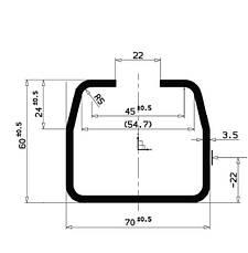 Консольный комплект для откатных ворот +зубчатая рейка 4 м, с автоматикой AN-MOTORS, фото 3
