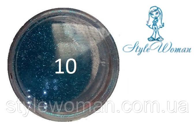 Блискітки для дизайну нігтів №10