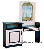Туалетный столик Ким  (Світ мебелів) 930х410х1415ммвенге