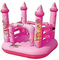 Надувной игровой центр для детей Winx 92010 Bestway, винил, 157х155х147 см, от 3-х лет, ремкомплект