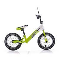 Велобег с надувными колесами Balance зеленый