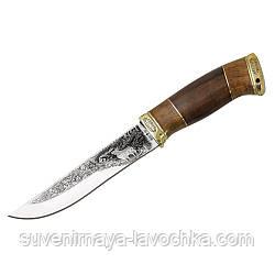 Нож охотничий Олень ( с рисунком )