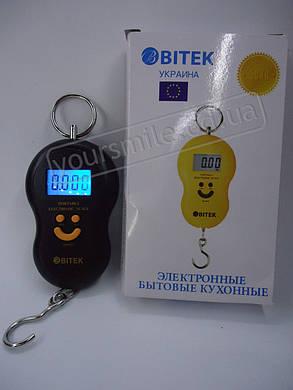 Весы ручные подвесные кантер электронный цифровой безмен vitek витек, фото 2