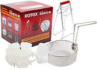 Набор аксессуаров для мультиварки (щипцы, фритюрницы, йогуртница) ROTEX RAM03-M
