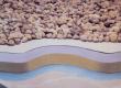 ПВХ мембрана Aqua100P 1.2 мм, армована, з УФ, серая  (2.05х20м)