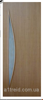 Двери межкомнатные из МДФ со стеклом Парус Омис