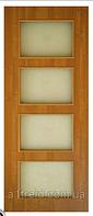 Двери межкомнатные из МДФ со стеклом Альта 3 ПО
