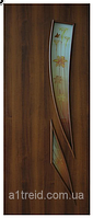 Межкомнатные двери с фотопечатью на стекле Фиеста ФП