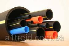 Труба полиэтиленовая 63 толщина стенки 3 мм 6атм ПЭ80