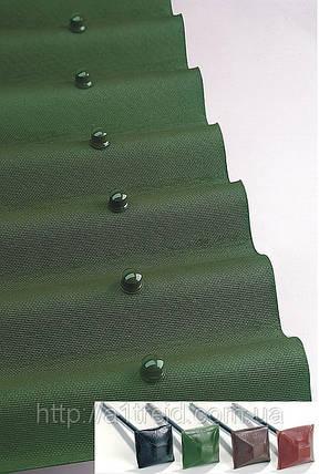 Onduline Ондулин лист зеленый шифер битумный, фото 2