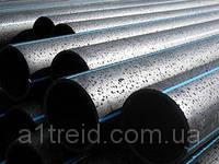 Труба полиэтиленовая водопроводная 16 мм стенка 1,6 мм  10 атм бухты п