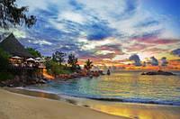 """Фотообои """"Отель на пляже"""""""