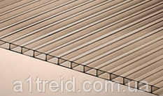Поликарбонат сотовый 4мм Визор Vizor ® (Чехия, гарантия 10 лет), фото 2
